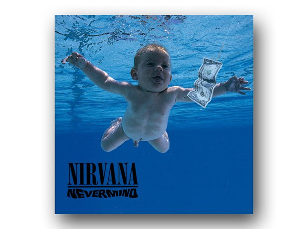 Nirvana – Nevermind album cover