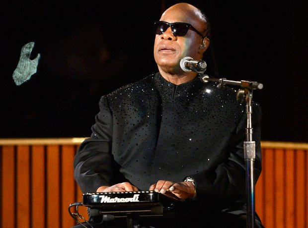 Stevie Wonder at the  Grammy Awards 2014