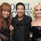 Lionel Richie, Rebecca Ferguson and Pixie Lott