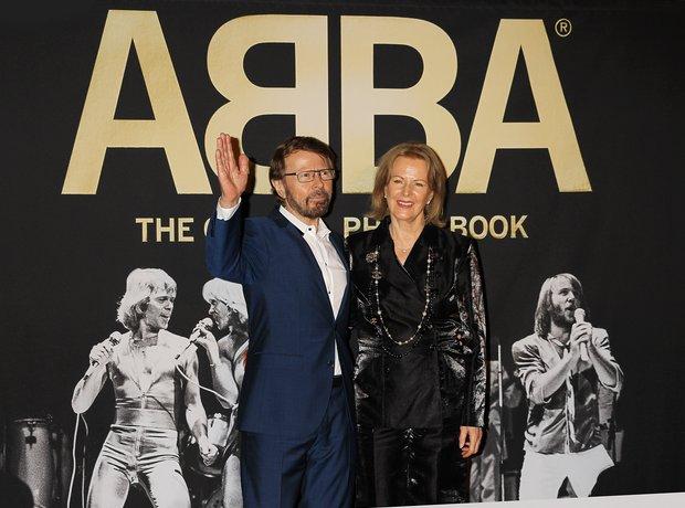 Bjorn Ulvaeus and Anni-Frid Lyngstad