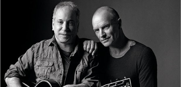 Paul Simon and Sting