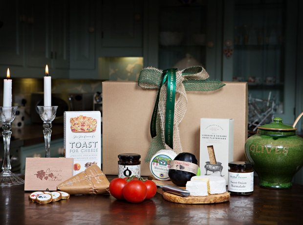 Cheese Hamper, Hunters of Helmsley, £65 (plus P&P)