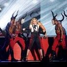Madonna Fall BRIT Awards 2015 Performance