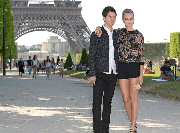 Nat Wolff & Cara Delevingne Paris