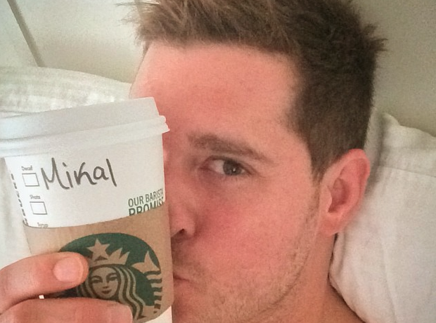 Michael Buble Starbucks