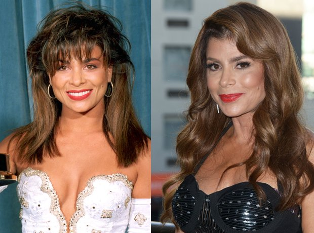 Paula Abdul Then And Now