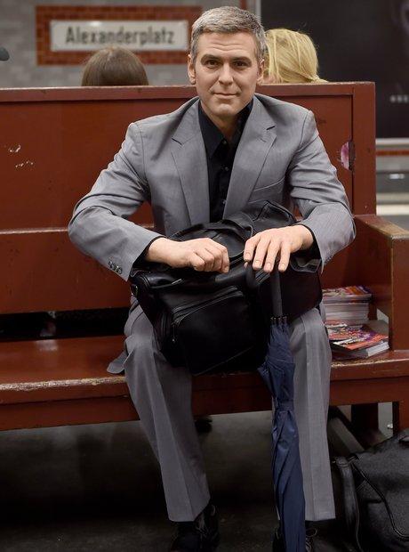 George Clooney Waxwork