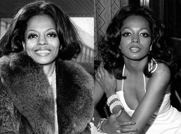 iconic beauty looks music diana ross