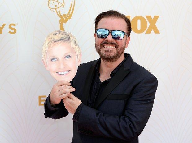 Ricky Gervais Emmy Awards
