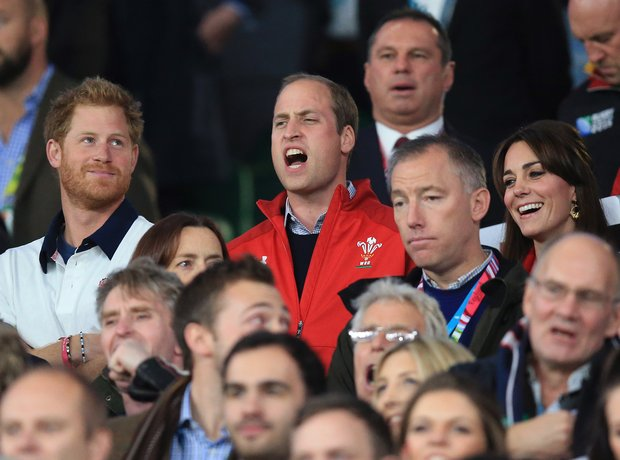 Duke and Duchess of Cambridge Rugby World Cup