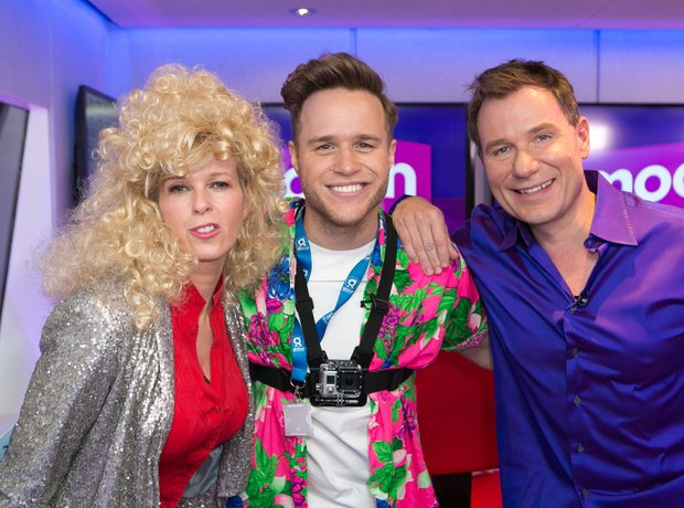 Kate Garraway, Olly Murs and Richard Arnold Globa