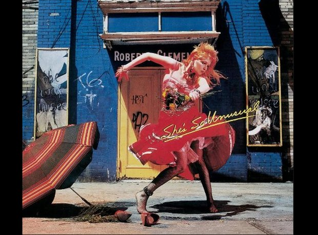 Cyndi Lauper 80s album covers