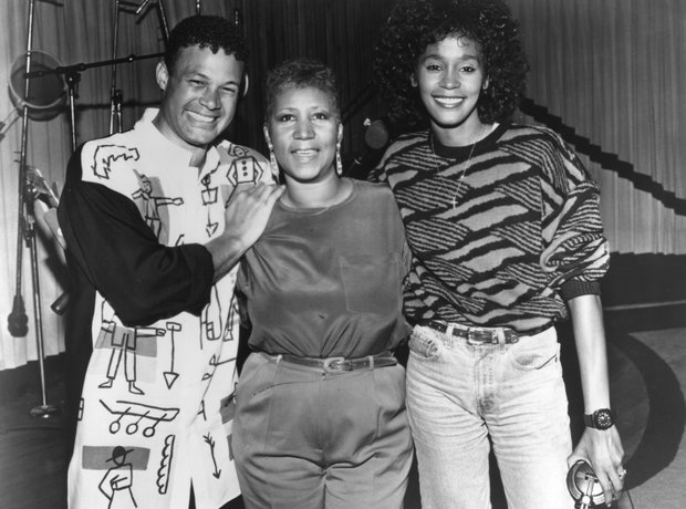 Narrada Michael Walden, Aretha Franklin and Whitne