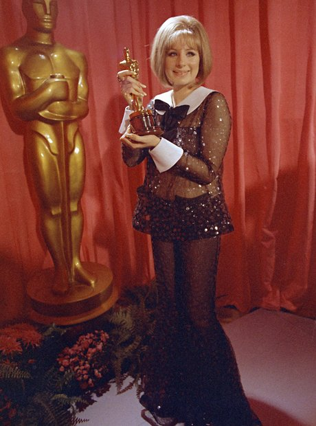 The Most Iconic Oscars Dresses Barbra Streisand