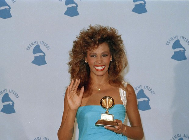 Grammys Awards History Whitney Houston