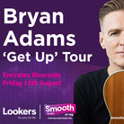 Bryan Adams - live at Durham CC