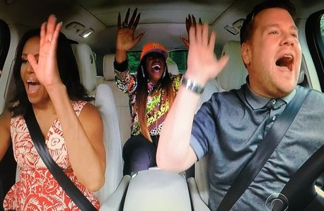 Michelle Obama, James Corden, Missy Elliot Carpool