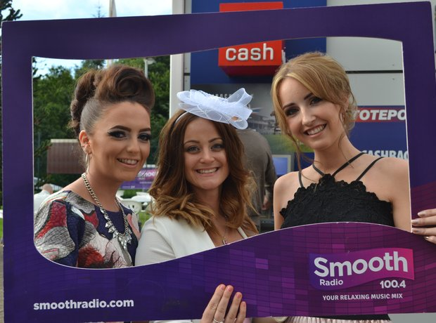 Smooth Radio at Haydock Racecourse