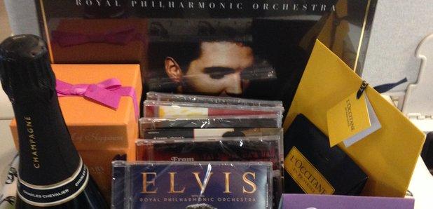 Elvis presley hamper