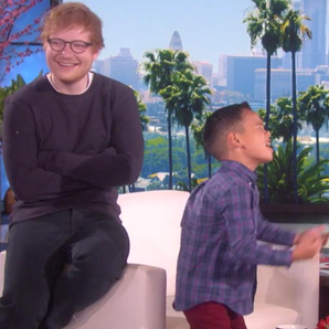 Ed Sheeran on Ellen