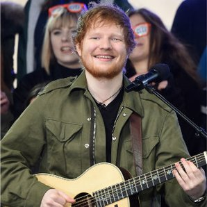 Ed Sheeran at Glasto